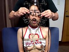 艶女鼻責め 極虐調教 三人の変態マゾ牝