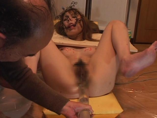 淫奴隷 木枷拘束 マゾ牝調教 甲斐ミハルのサンプル画像13