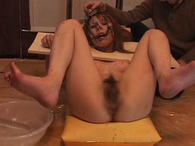 淫奴隷 木枷拘束 マゾ牝調教 甲斐ミハルのサンプル画像15