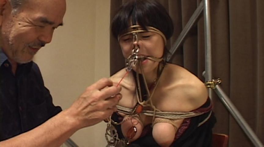 鼻肛虐悦 真性マゾ牝鼻孔 肛門虐待調教のサンプル画像
