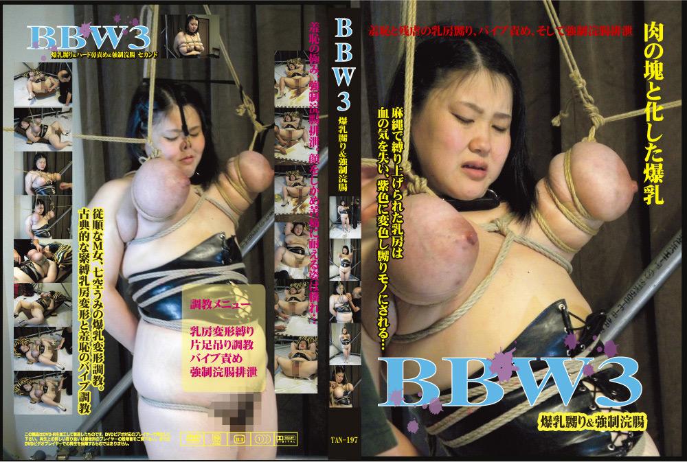 """【エロ動画】""""BBW3 爆乳嬲り&強制浣腸""""のトップ画像"""