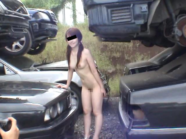 投稿野外全裸 ゆかり19歳受付嬢のサンプル画像