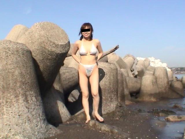 野外露出 麻衣子19歳女子大生のサンプル画像5