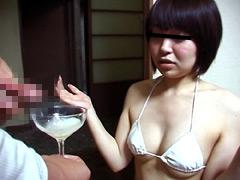 美乳OL京子 ぜんぶごっくん