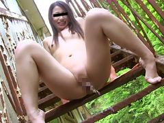 野外全裸 麻奈 20歳