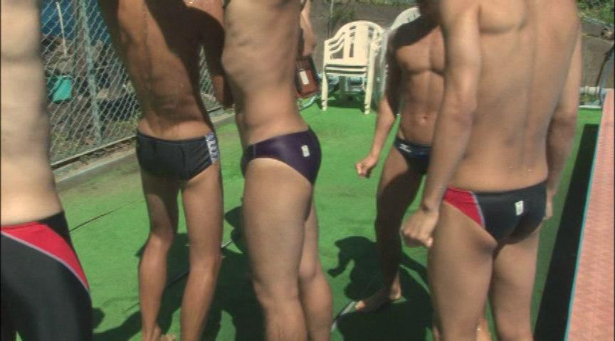 男子競泳水着 Fetishism 画像 1