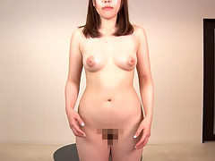 現代日本人女性の裸体