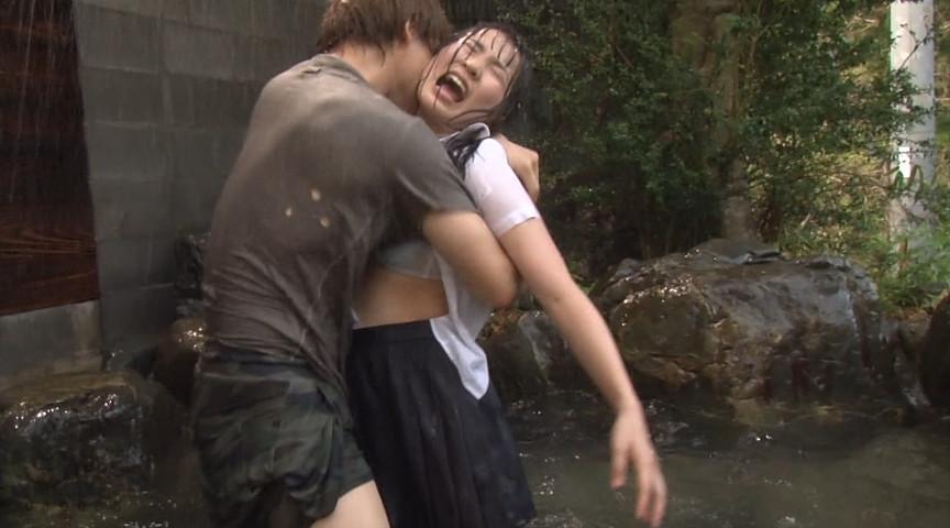 びしょ濡れ女子●生雨宿り強制わいせつ2