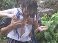 びしょ濡れ女子●生雨宿り強制わいせつ3-1