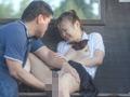 びしょ濡れ女子○生雨宿りバス停強制わいせつ-2