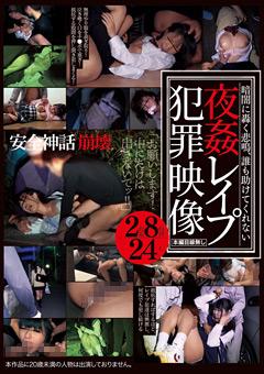 誰も助けてくれない夜姦レイプ犯罪映像2枚組8時間