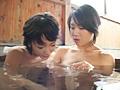 本格レズ 湯けむり熟女3人 SEX紀行-1