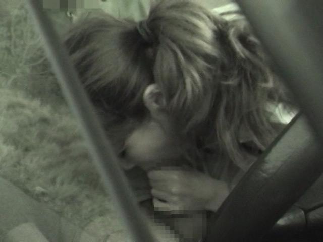 カーSEX盗撮 こんな可愛い子が車の中でSEX 画像 6