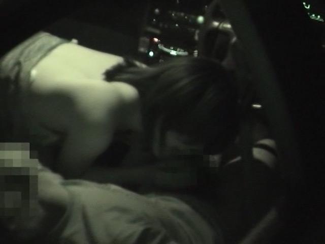 カーSEX盗撮 こんな可愛い子が車の中でSEX 画像 10