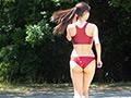 乳M女子陸上選手 速水さくら-3