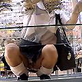 ローアングル制服美少女編73-320