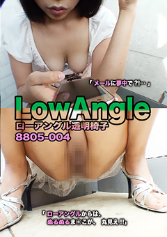 ローアングル透明椅子8805-004