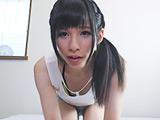 ベビーフェイス「さくや」ちゃんのアヘ顔オナニー 【DUGA】