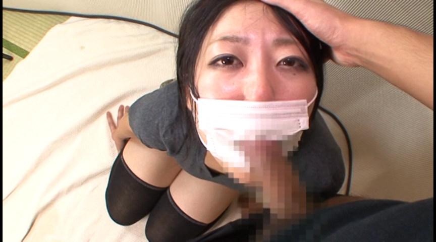 マスクでフェラ 画像 5