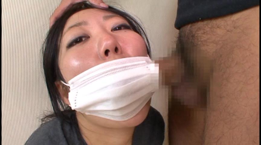 マスクでフェラ 画像 6