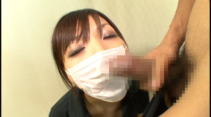 マスクでフェラ 画像 8