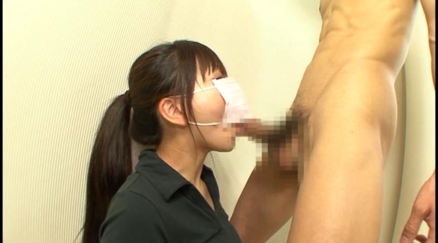 マスクでフェラ 画像 9