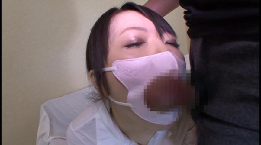 マスクでフェラ 画像 15