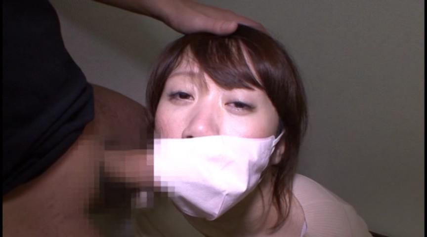 マスクでフェラ 画像 16