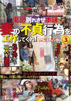 東京別れさせ本舗 妻の不貞行為を工作してくれ! リアル・スティンガー3