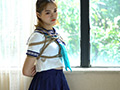 緊縛の状態に入った女子○校生のサムネイルエロ画像No.1