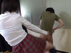 お嬢様JKのマジギレ喧嘩蹴 斉藤ひな