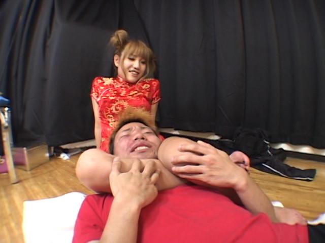 レゲエGALケツ振り体罰ダンス 鮎川マリア 画像 13