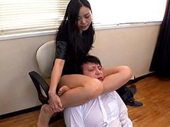 M男:いやらしいお姉さんの美脚責め 天野小雪