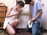 「おばさんの下着で興奮するの?」 澤村レイコ 【DUGA】