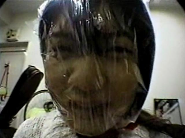 ビニール袋顔面窒息 特別編のサンプル画像