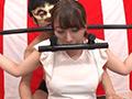 ザ・ガマン素人くすぐり 固定器具で拘束状態!!