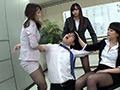 【独占配信】黒パンストOL M男管理課 サムネ17