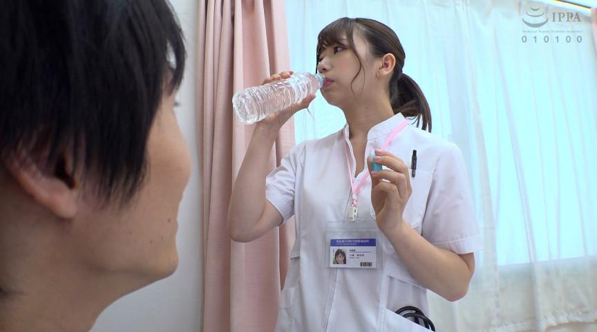入院中の息子が看護師のデカ尻義母に媚薬を飲ませると 画像 1