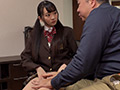 制服姿の新しい娘が義父を母に隠れて射精管理! 3-4