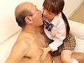 女子校生とヲジサンのベロベチョ接吻とにゅるぬる手コキ-1