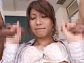 ツン顔でイキガマンするオンナ教師 紗奈-4