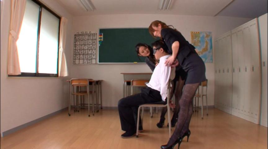寸止め女教師ザーメン狩り 澤村レイコのサンプル画像8