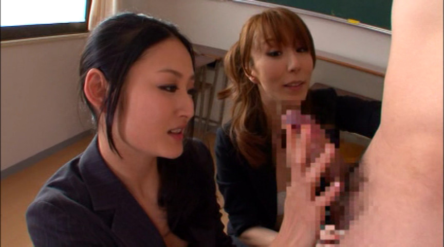 寸止め女教師ザーメン狩り 澤村レイコのサンプル画像9