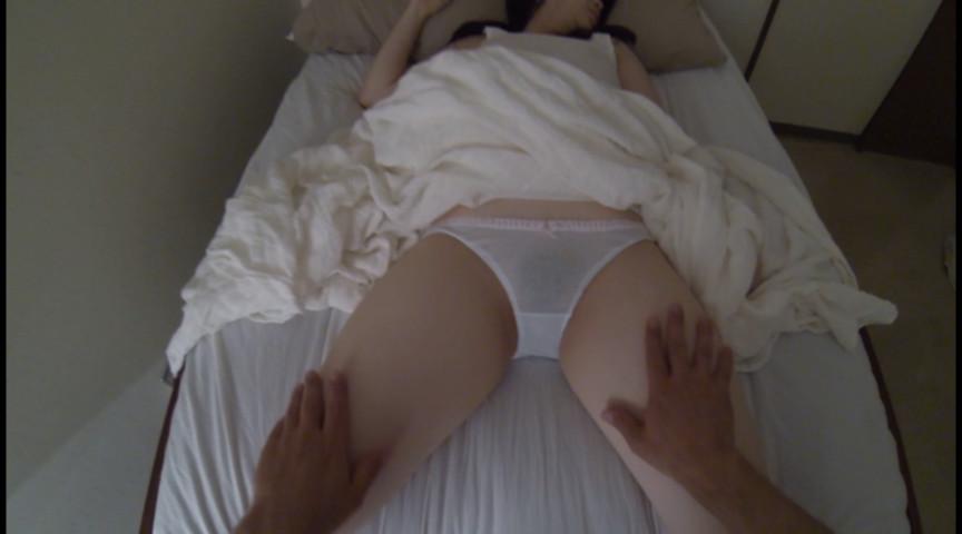 寝女パン2 寝ている女を起こさぬようにパンツを堪能