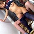 フェッチ&脚線美 藤谷ひとみ