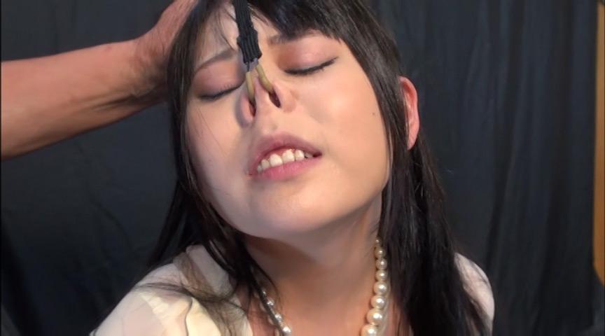 鼻哭M少女 悦虐の洗礼のサンプル画像2