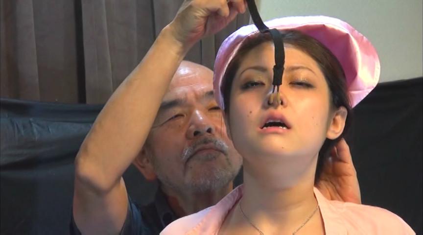 穴哭ナース淫虐浣腸 ~膣肛嬲り~ 広瀬リカのサンプル画像9