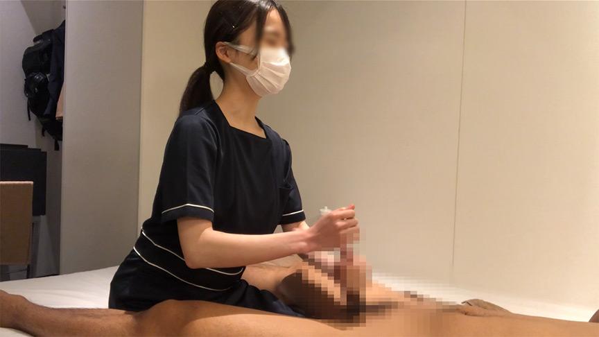 出張ローション手コキ隠し撮り・足コキオプション【木内(20歳)3回目】 3枚目
