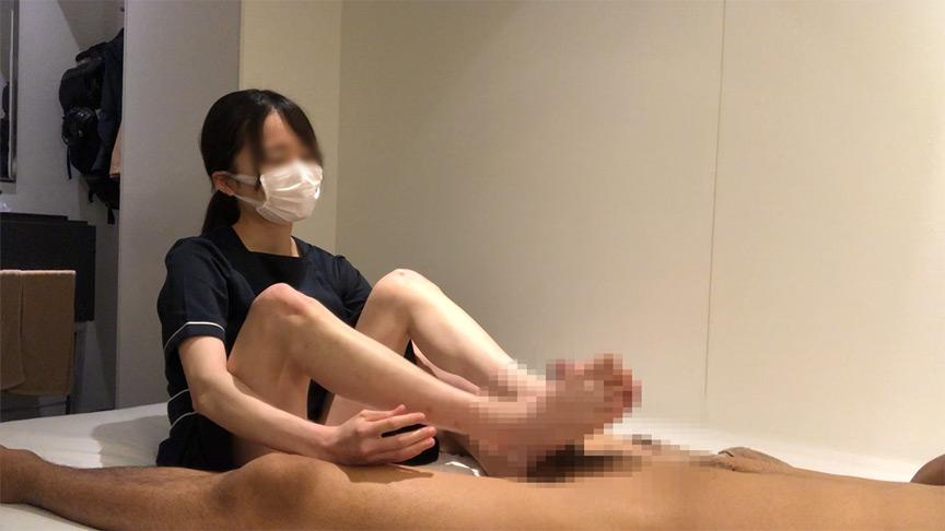 出張ローション手コキ隠し撮り・足コキオプション【木内(20歳)3回目】 8枚目