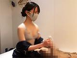 出張ローション手コキ隠し撮り・ブラ見せ【木内6回目】